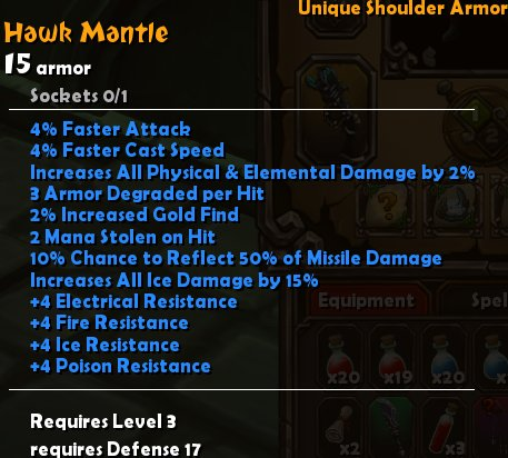 Hawk Mantle